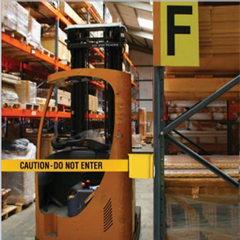 Wall Mount Warehouse Safety Barrier