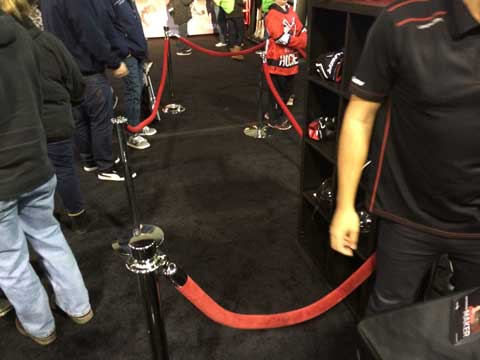 Bauer Hockey Post And Rope Hockey Expo