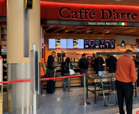 Caffe D'arte Sea-Tac Airport North Opening