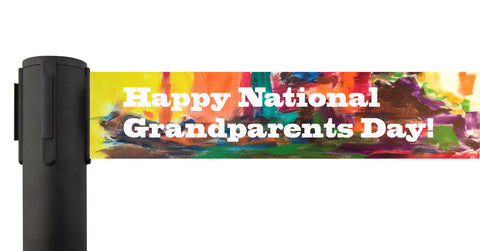 Custom Printed Grandparents Day Retractable Belt