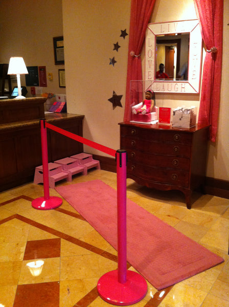 stanchions for the cure Marriott