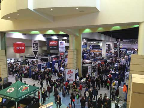 2015 Lets Play Hockey Expo Stanchion Tour