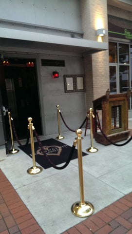House of Blues Houston Foundation Room Stanchion Entrance