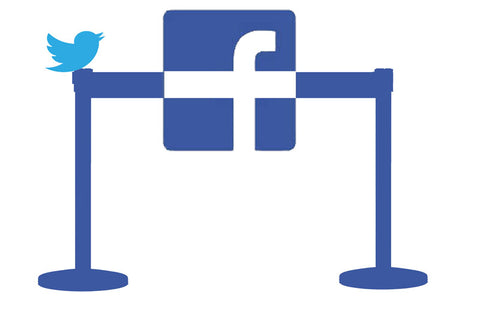 Facebook and Twitter Crowd Control