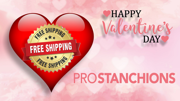 Free Shipping Valentines Day 2018 Crowd Control Stanchions