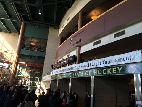 Xcel Energy Center Home Of Minnesota State High School Hockey Championships