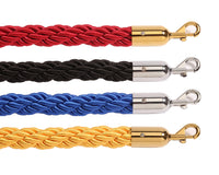 "Group - Luxury Style Rayon Rope 1"" Braid-Twisted Diameter"
