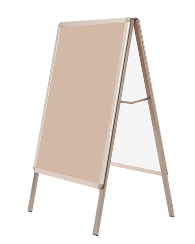 A Frame Outdoor Poster Sign Stand Double Sided Aluminium