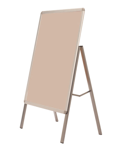 A Frame Outdoor Poster Sign Stand Single Sided Aluminium