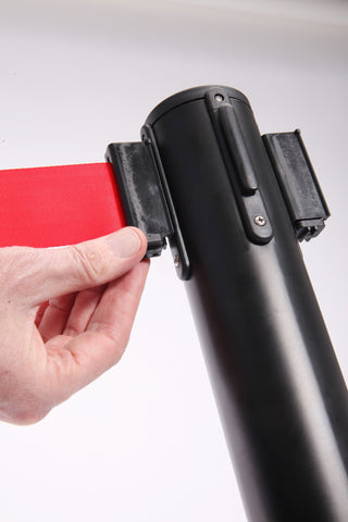 Belt Lock For Red WeatherMaster300 Retractable Outdoor Tape Barrier