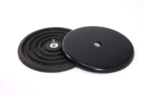 Low Profile Cast Iron Base Weight and Cover