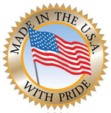 "Made in America - Poster Sign Stand 22"" x 28"" Heavy-Weight Retail Flat Base - Chrome"