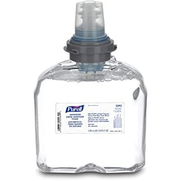 Purell Gojo 1200 ml Refill Cartridge for Dispenser Station for Retractable Belt Stanchions