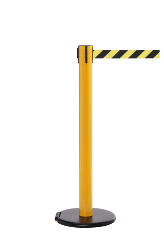 RollerSafety 300 Rolling Retractable Caution Tape Safety Barrier