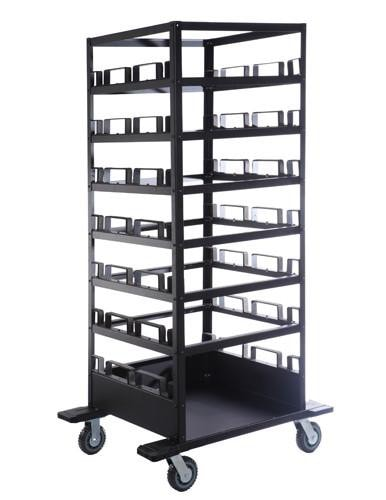 21-Post Stanchion Storage Cart and Transport