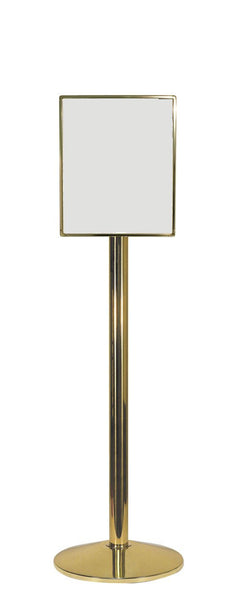 Premium Sign Stand and 11 x 14 Designer Series Hinged Sign Frame