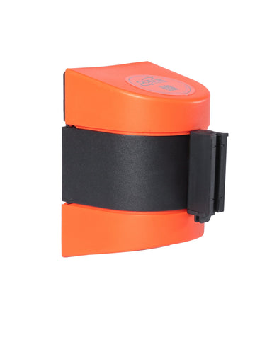 WallPro 400 Orange Retractable Wall Mount Access Control Belt Barrier