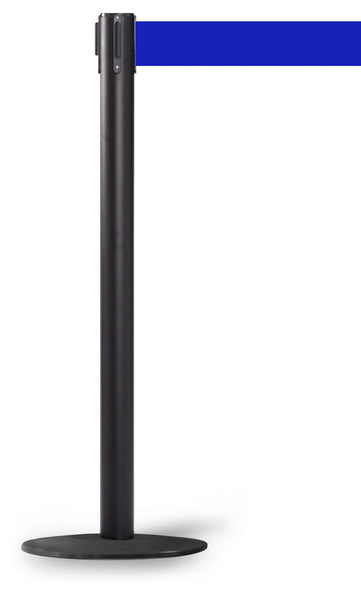 WeatherPro 250 Xtra Black - Outdoor Belt Stanchions | Queue Solutions
