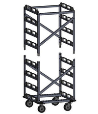 12-Post Addition for 12-Post Capacity Horizontal Storage Cart