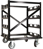 Before - 12-Post Addition for 12-Post Capacity Horizontal Storage Cart