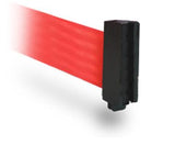 Standard Belt End - WallPro 300 Magnetic Wall Mount 10' Belt Barrier Red or Orange