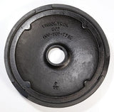 Cast Iron Base w/Rubber Floor Protector - Retracta-Belt Hyper-Strength Dual Line Receiver Post