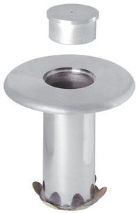 Floor Socket & Cap For Removable Stanchions