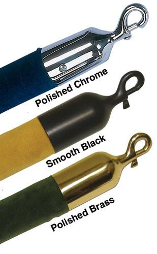 "Heavy-Duty Snap End For 1.5"" [Velvet] Stanchion Rope"