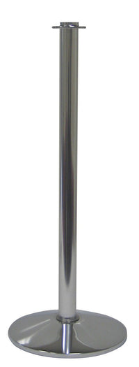 Event-Grade Flat Top Conventional Post & Rope Stanchion Post, Visiontron ST600S-PA