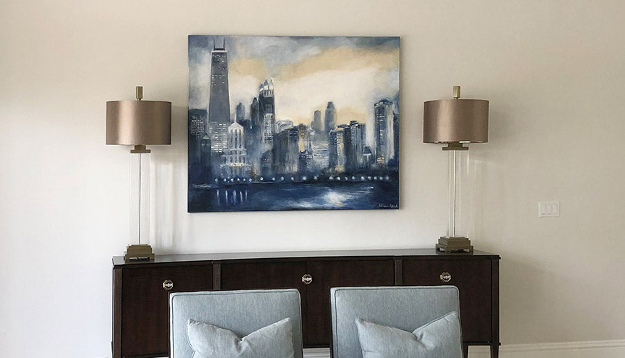 Commission a Painting of the Chicago skyline.