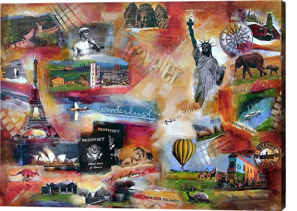 Commission a custom painting about your travels.