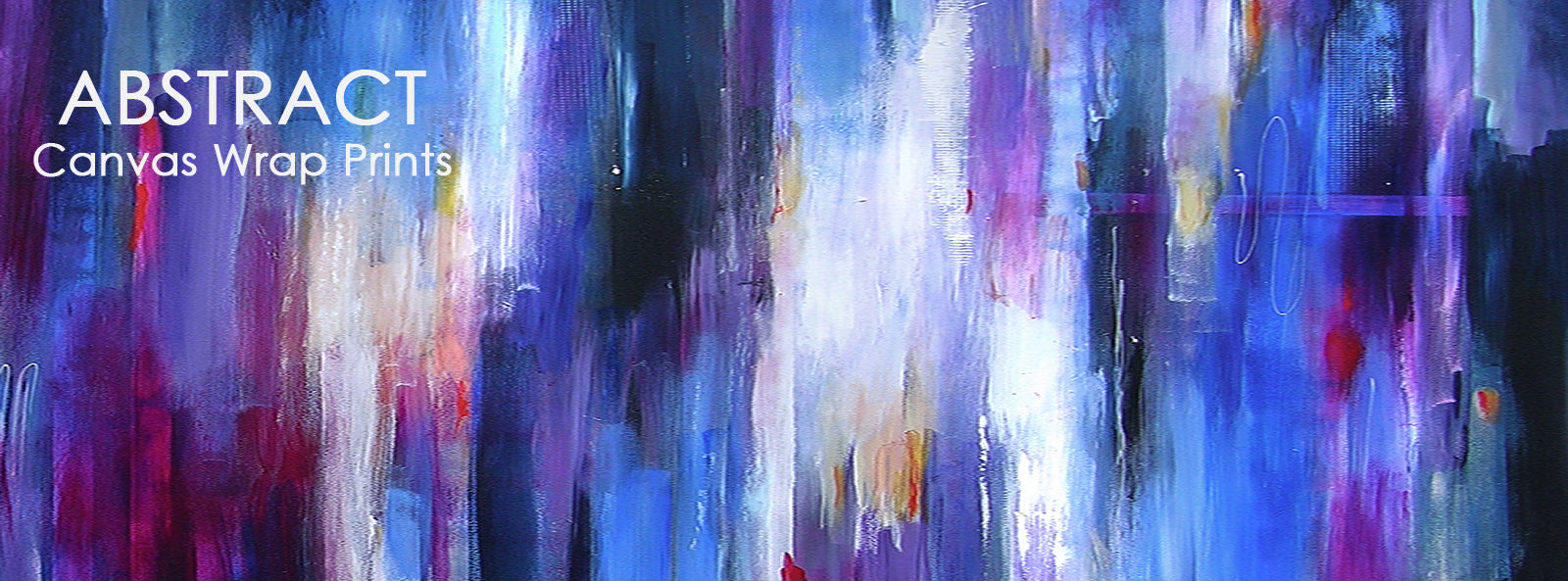 Abstract art prints on canvas, abstract canvas wrap art prints. contemporary abstract painting prints.