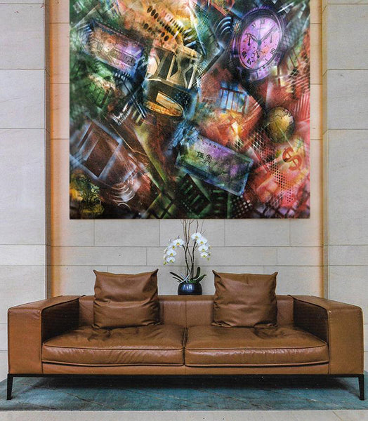Large Custom Corporate Paintings on Canvas are a Specialty