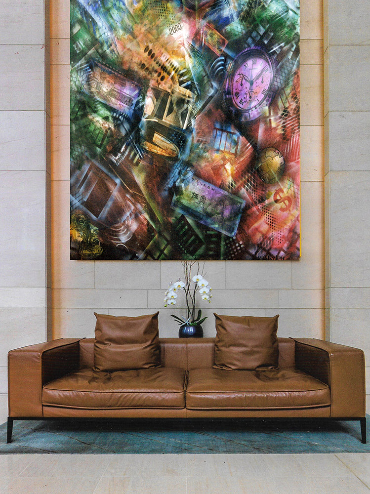Corporate Custom Art - PAINTING FOR A BANK