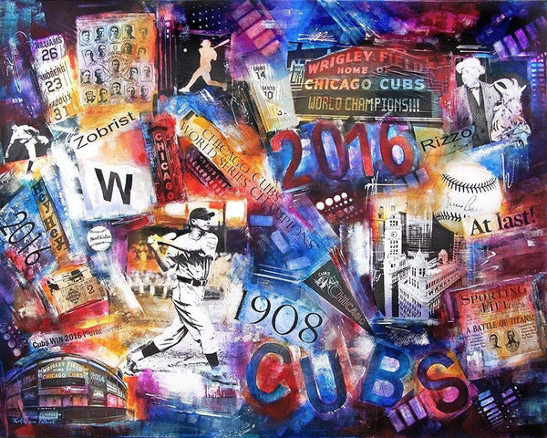 Chicago Cubs custom painting