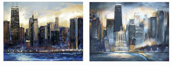 Order a painting of the Chicago Skyline.