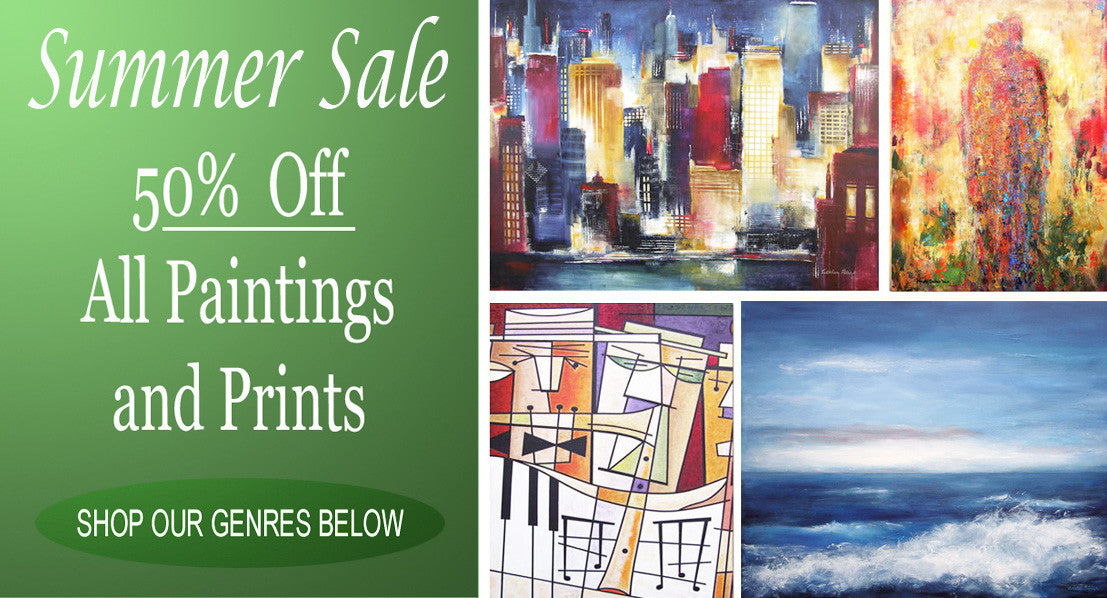 Chicago Skyline Art - Paintings and Prints of Chicago, Landscape Art, Abstract Artwork, and Music, Wine and Romantic Art.