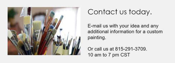 Contact us today for a custom painting consultation.