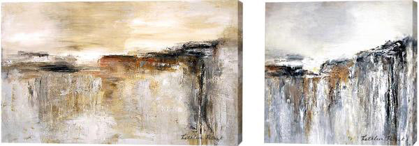 Custom Abstract landscape paintings on canvas
