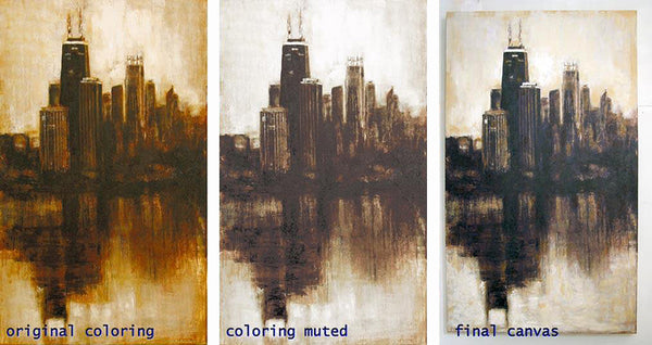 Color variations are available for all canvas prints and framed prints.