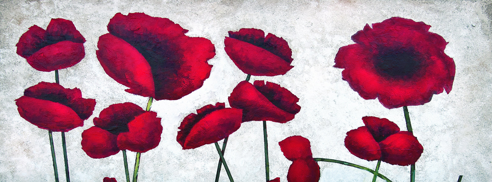 Paintings Of Poppies Flower Paintings Poppy Art Chicago