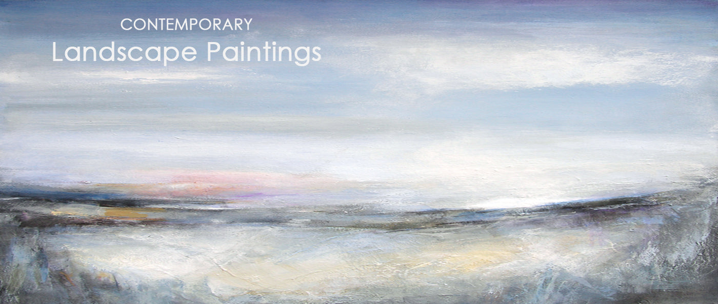 Contemporary Landscape Paintings on Canvas, Contemporary landscape art prints on canvas
