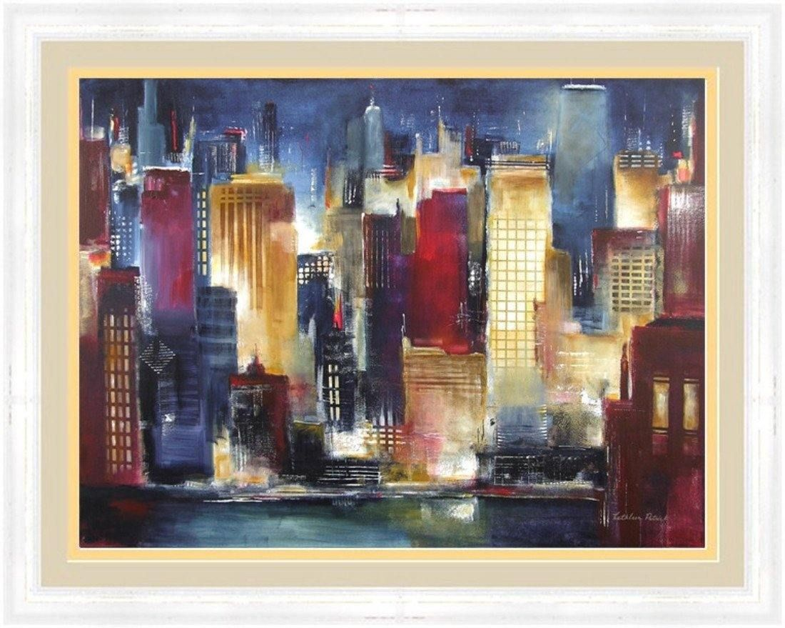 Framed fine art print-Windy City Night