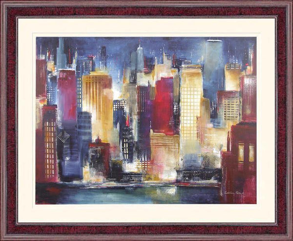 Chicago Skyline Print