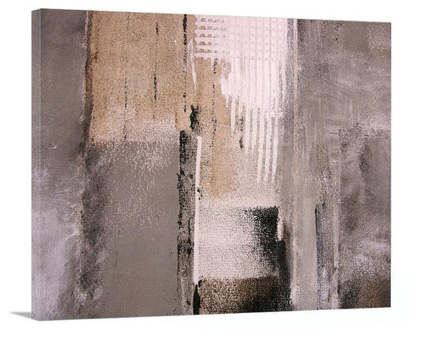 "Large Abstract Canvas Print -  ""The Urban Edge"" - Chicago Skyline Art"