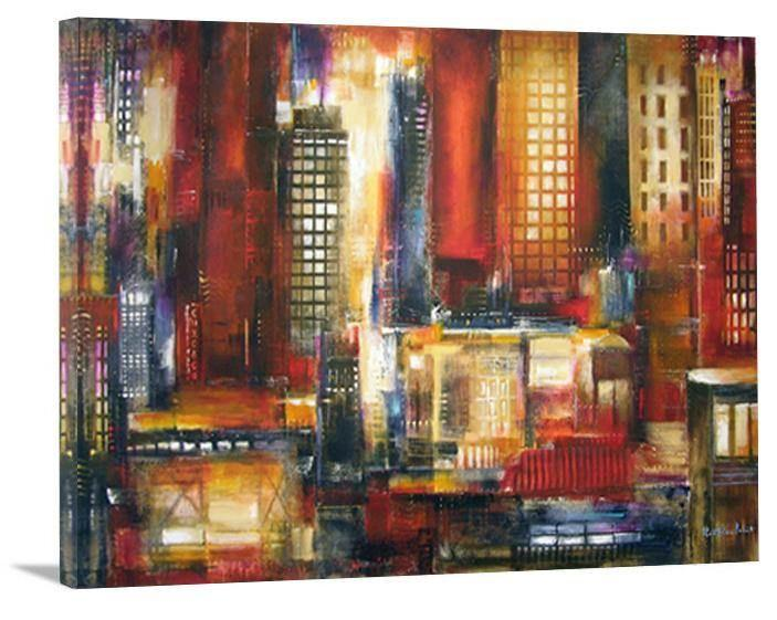 Chicago Skyline Canvas Art Print  - In the Loop