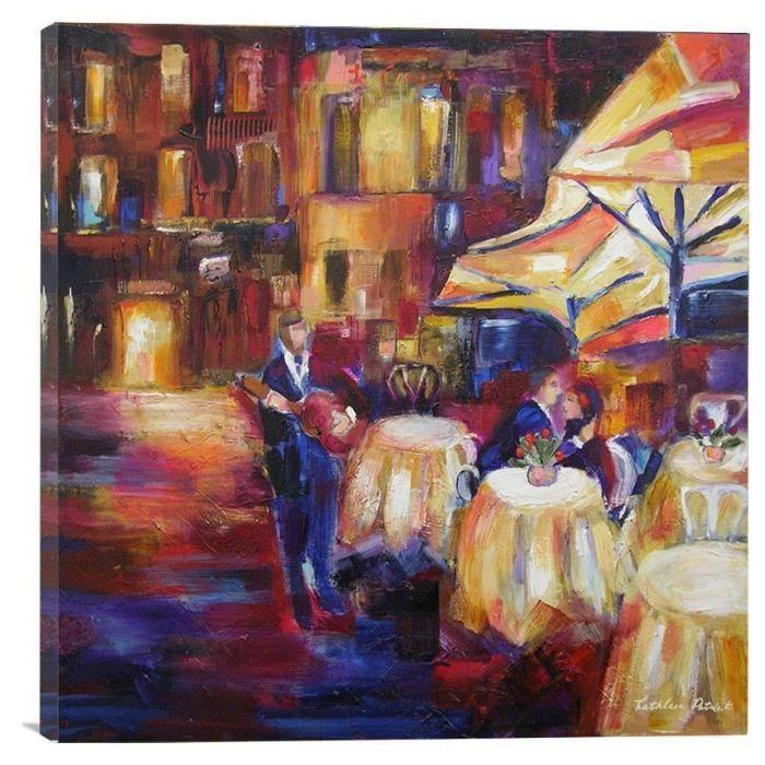 "Romantic Musical Canvas Art Print - ""Serenade"""