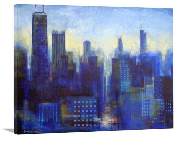 Chicago Skyline Art Print on Canvas - The View From My Window