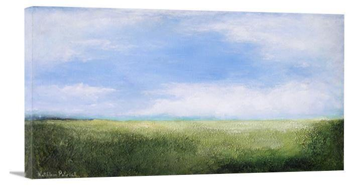 "Canvas Art Landscape Print- ""On a Happy Summer Day"""