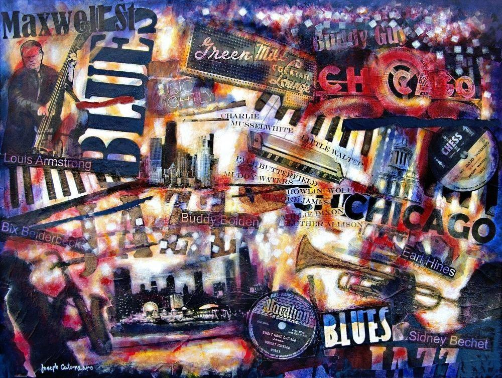 jazz and blues art